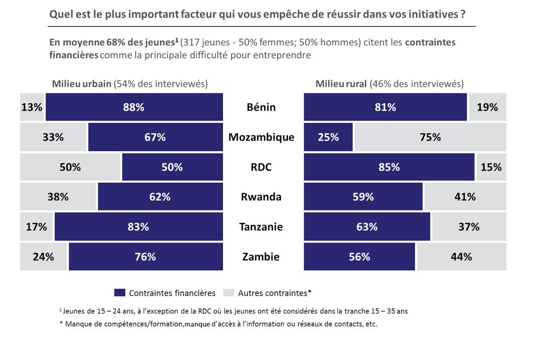 contraintes jeunes entrepreneuriat